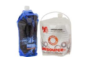 מיכל גמיש לכימיקלים ודטרגנטים תורם לחסכון בנפח אחסון ושינוע